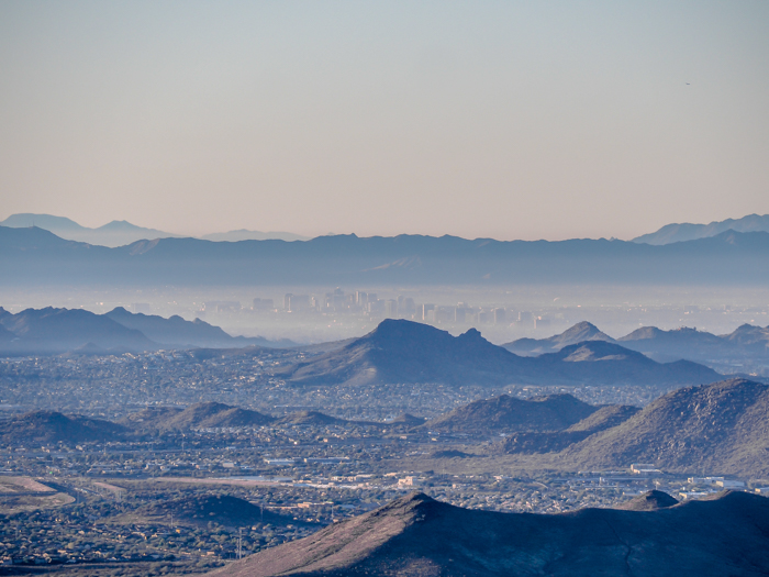 Phoenix skyline | What You Need to Know for Your Sunrise Hot Air Balloon Ride in Arizona | Scottsdale and Phoenix, Arizona hot air balloon rides with Hot Air Expeditions