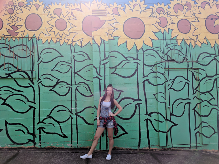 How to Spend a Weekend in Nashville If You Hate Country Music | Nashville, Tennessee | Nashville murals, Sunflowers