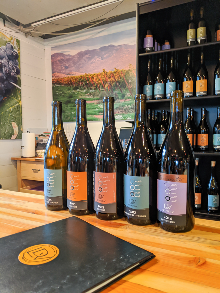 4 Days in Scottsdale, Arizona // A Jam-Packed Itinerary With a Bit of Everything | Where to drink in Scottsdale: LDV Winery #winetasting #winery #scottsdale