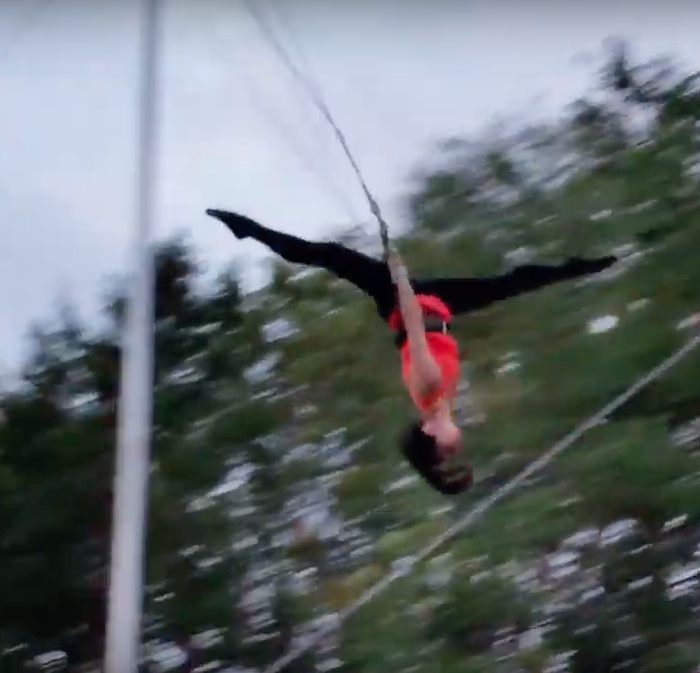 Flying trapeze / 3 days in Sarasota, Florida / What to do in Sarasota, Where to eat in Sarasota, itinerary and information guide