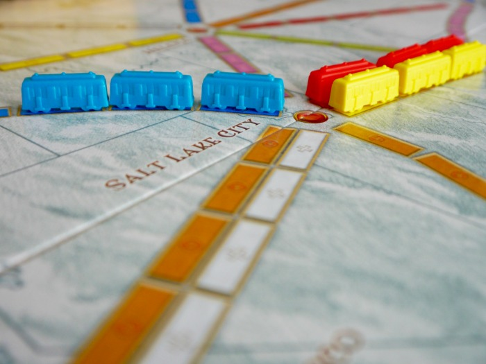 Ticket to Ride / 17 Travel-Themed Board Games for When You Can't Leave the House #boardgame #tickettoride #travelgames