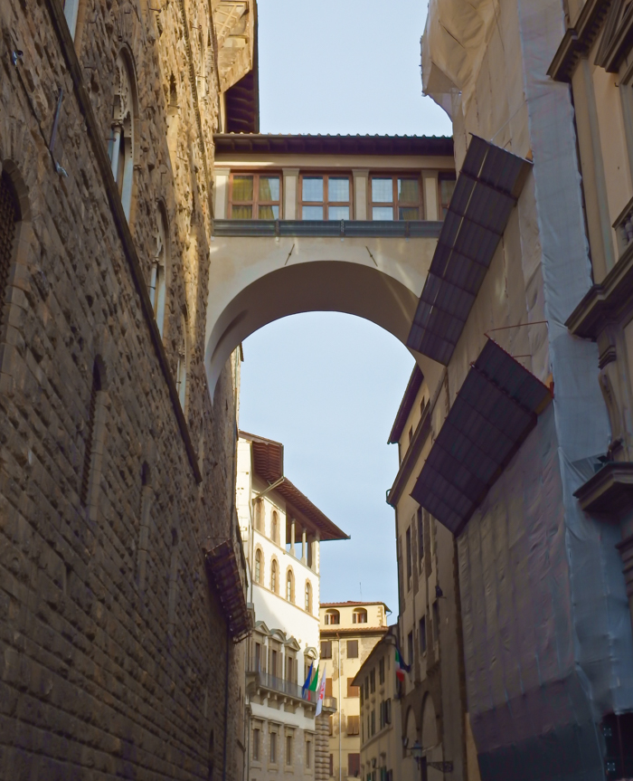 Vasari Cooridor / 2 days in Florence, Italy