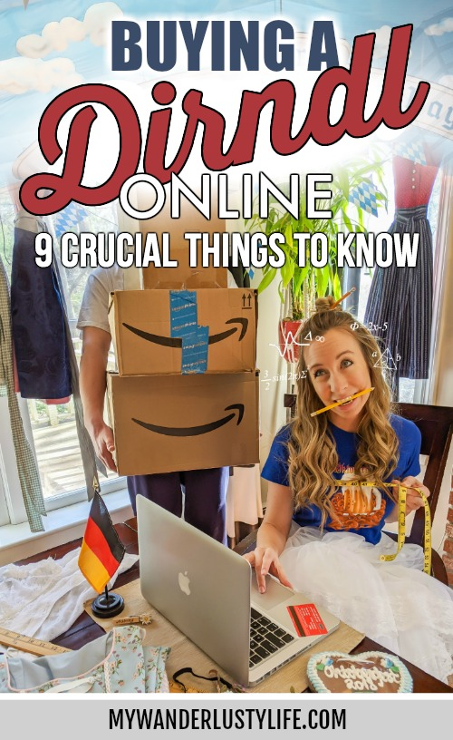 Buying a dirndl online: 9 things you need to know first | tips for buying a dirndl on the internet, where to buy a dirndl online for oktoberfest, buying a dirndl on amazon #dirndl #oktoberfest #germany #tracht