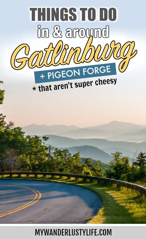 What to do in Gatlinburg and Pigeon Forge, Tennessee | Where to stay in the Smoky Mountains | Hiking, sightseeing, ole smoky moonshine distillery, appalachian trail, dollywood, and more! #gatlinburg #pigeonforge #dollywood #smokymountains #moonshine #dollyparton #mywanderlustylife