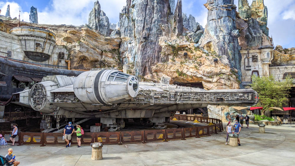 Visiting Disney World During the Pandemic: Everything You're Dying to Know | Disney World in 2020, what it's like to visit disney world right now. | Millennium Falcon