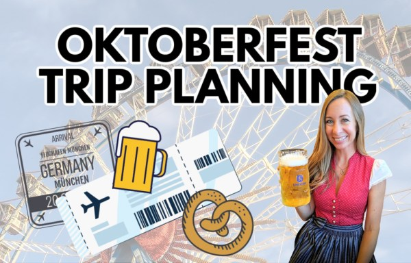 Banner for Oktoberfest trip planning with Ashley from My Wanderlusty Life