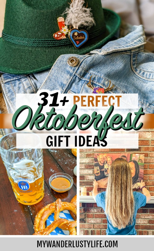 oktoberfest gift ideas, perfect gifts for oktoberfest lovers: gifts for pretzel lovers, gifts for dirndl and lederhosen wearers, Oktoberfest gifts for the home, Oktoberfest gifts for the holidays, Munich gifts, and more! #oktoberfest #giftguide #christmas #mywanderlustylife #munich