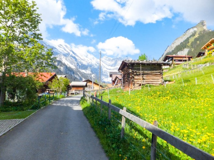 Gimmelwald town | Where to stay in Gimmelwald, Switzerland: Mountain Hostels and B&Bs | Best places to stay in Gimmelwald