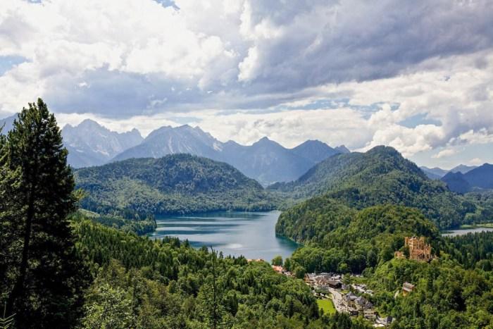 Neuschwanstein Castle lake view | Where to stay near Neuschwanstein Castle: 12 Best Hotels and Airbnbs in Hohenschwangau, Schwangau, and Füssen