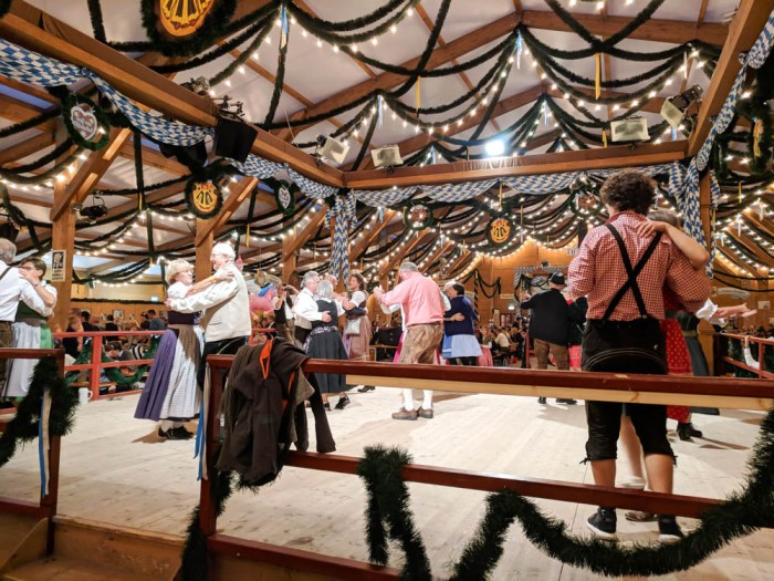 Dancing in the Festzelt Tradition | Will Oktoberfest 2021 take place? Is Oktoberfest 2021 going to be canceled? All the info you need to know like what to do, how to plan ahead, official announcements out of Munich, Germany