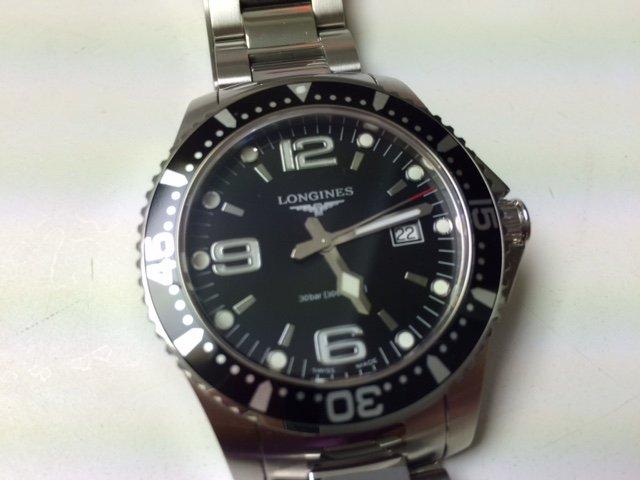 FS: Longines HydroConquest Black 39mm Quartz $500 - myWatchMart