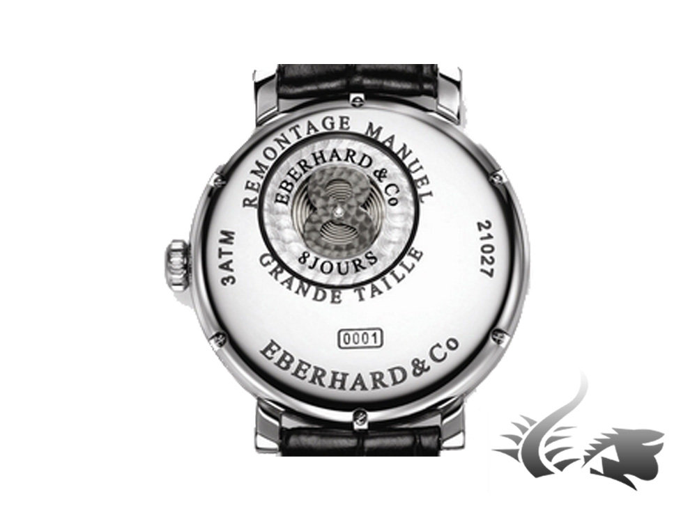 Eberhard 8 Jours Grande Taille Watch, Manual winding