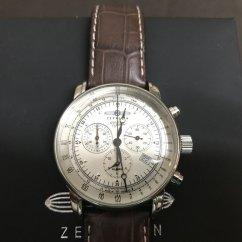 Cara Setting Alarm Grand New Avanza Headlamp Graf Zeppelin 7680 1 Chronograph With Function