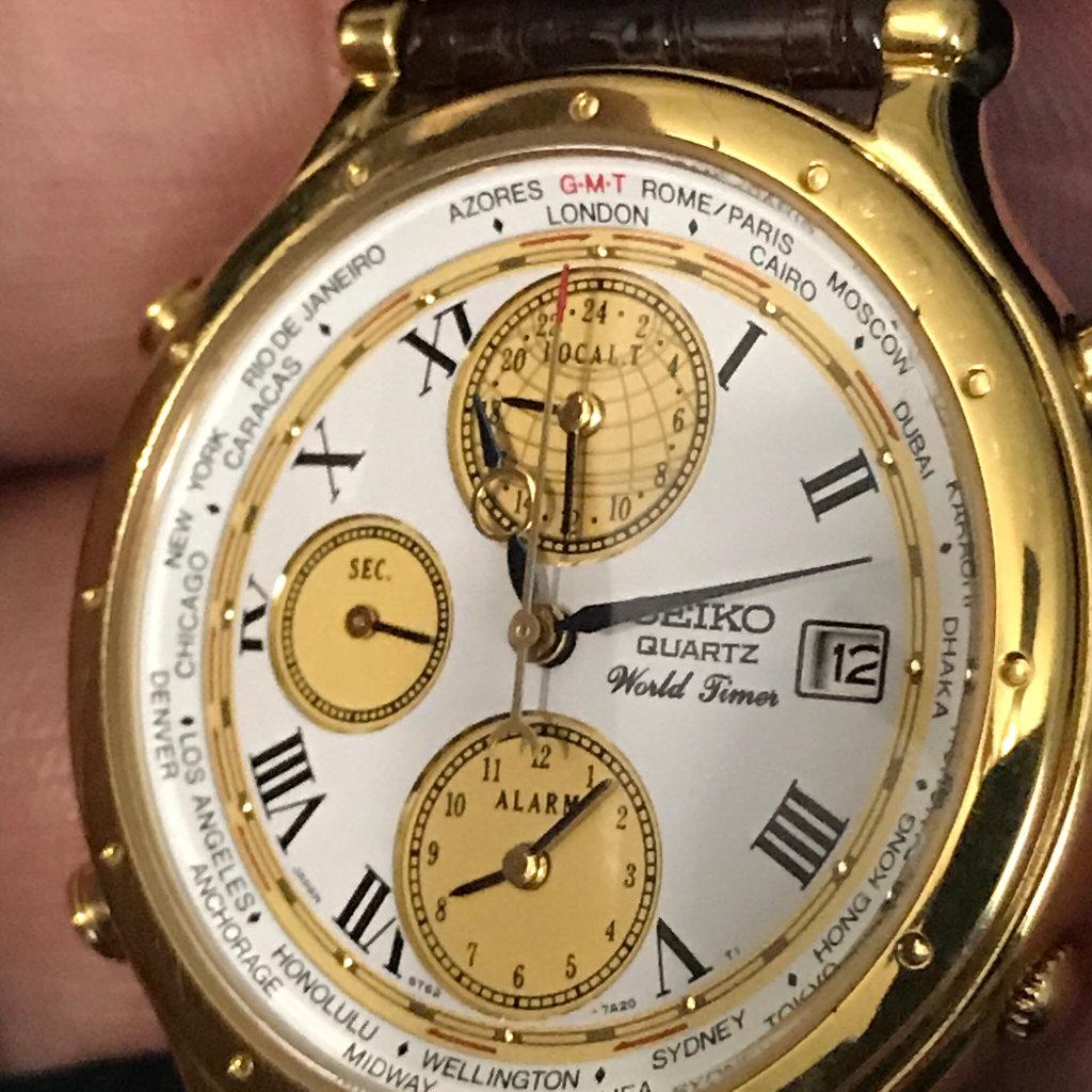 cara setting alarm grand new avanza all alphard 2018 redesign fs seiko world timer chronograph limited edition