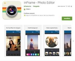 InFrame è molto semplice da usare per piccole grafiche