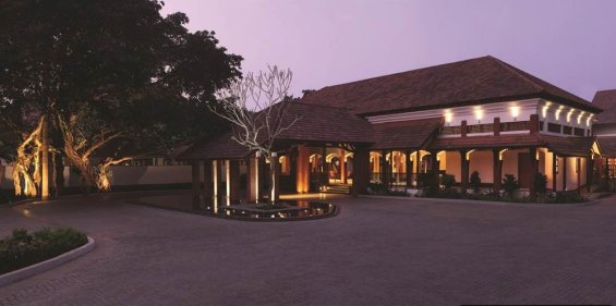 Alila Diwa Goa Entrance