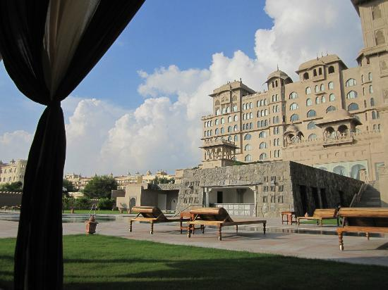 Fairmont Jaipur View from th rooms