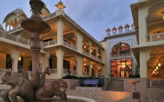 Rajasthali Resort & Spa Enterance