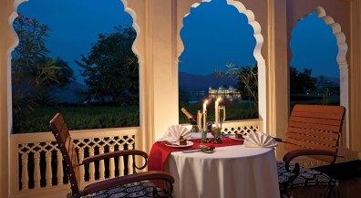 Trident Jaipur Terrace Area