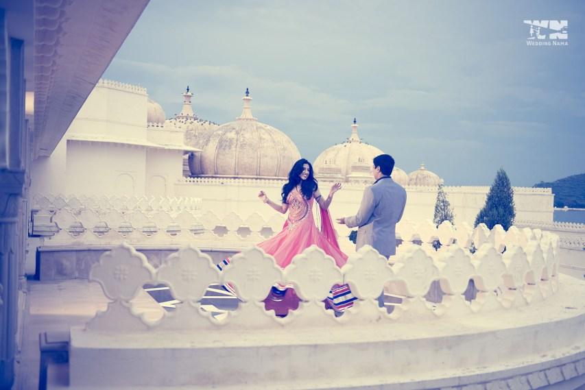 White Palace Wedding Shoot