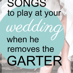 Chair Dance Ritual Song Patio Folding The 75 Best Garter Removal Songs 2019 My Wedding