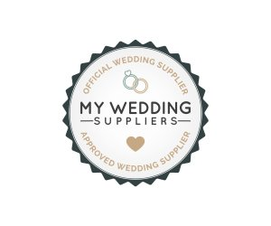 My Wedding Supplier Badge Dark Colour - Home