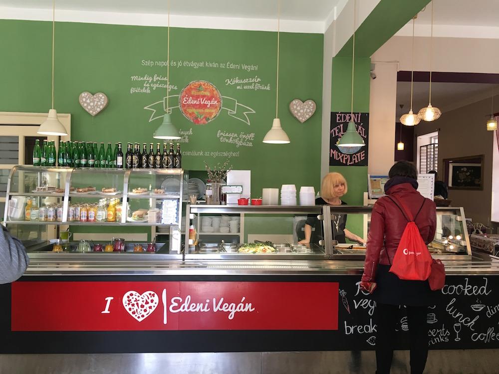 Being vegetarian in Budapest, Edeni Vegan in Budapest