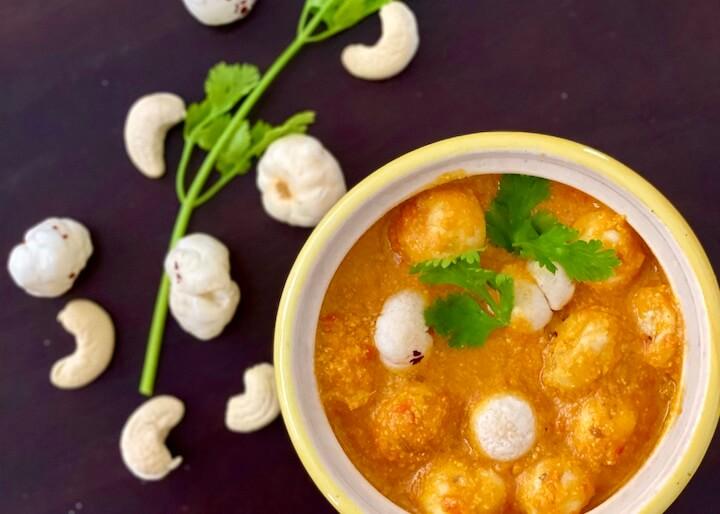 Makhane ki Sabzi | Vegan Fox nut Curry | My Weekend Kitchen