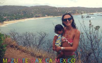 Mazunte a family friendly beach in Mexico