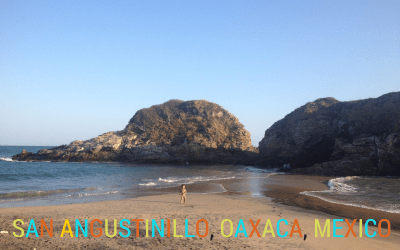 San Angustinillo a family friendly beach in Mexico