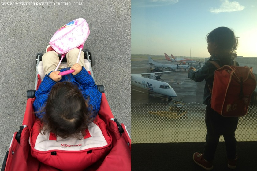 Holiday travel with toddlers. www.mywelltraveledfriend.com