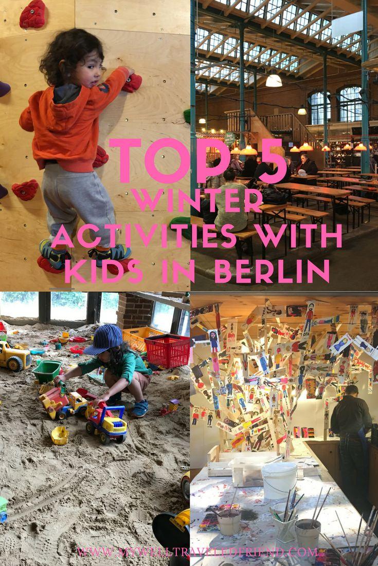Top 5 winter activities with kids in Berlin