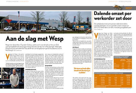 After Sales Magazine artikel Wesp