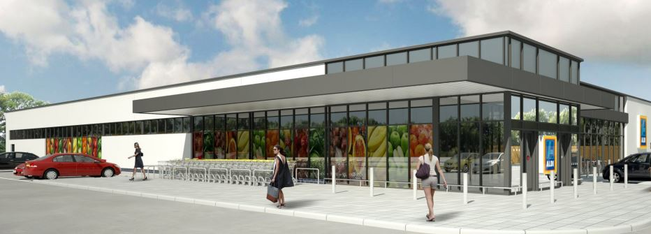 How the new Aldi could look