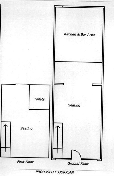 The proposed floorplan