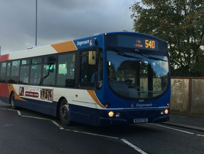 Revealed: Westhoughton's 540 bus service faces cuts