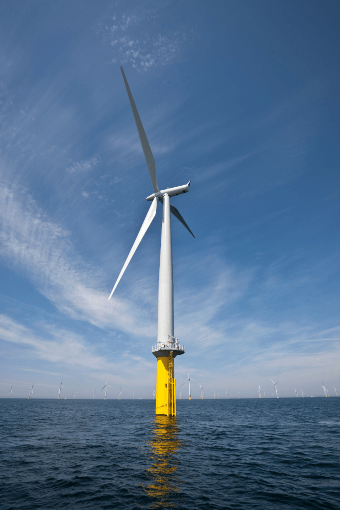 Innovative London Array Design Approved  WIND POWER Systems
