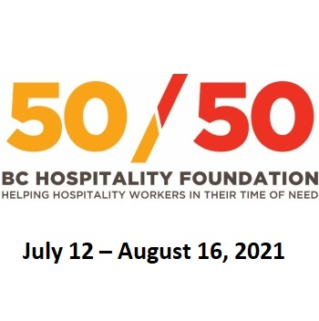 Buy 5050 tickets for BC Hospitality Foundation draw