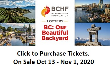 Buy Your Tickets for the BC Hospitality Lottery