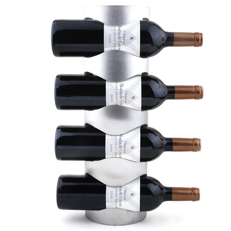 stainless steel wall mounted wine rack hold wine bottles stander my wine shop