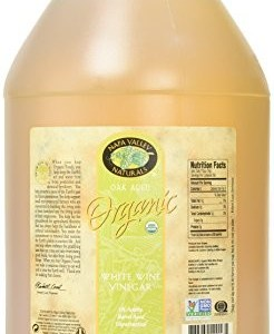 Napa Valley Naturals Organic White Wine Vinegar, 128 Ounce