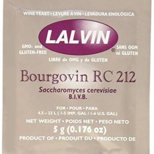 Bourgovin RC-212 (10 Packs) Wine Yeast