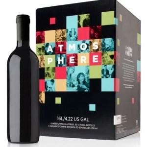 ATMOSPHERE Premium Wine Kit – Limited Release - Merlot, Syrah,Viognier Red Blend – Makes wine in 6 weeks