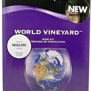 Home Brew Ohio Vintners Reserve World Vineyard California Moscato Wine Kit