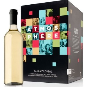 ATMOSPHERE Premium Wine Kit – Limited Release Viognier, Sauvignon Blanc, Chardonnay White Blend – Makes wine in 6 weeks