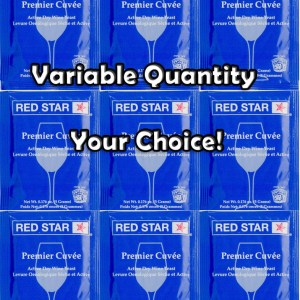 You Pick 1 - 10 Packs Red Star Premier Cuvee Wine Yeast - 5g pack - Home Making