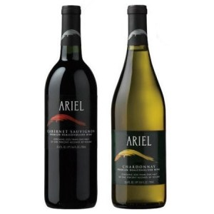 Ariel Non-alcoholic Wine Two Pack - Includes Ariel Cabernet and Ariel Chardonnay