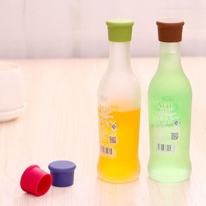 Hot Sale Accessories Necessaries Trendy New Lovely 1Pcs Silicone Bar Wine Stopper Individual