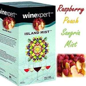 Raspberry Peach Sangria Kit (Island Mist)