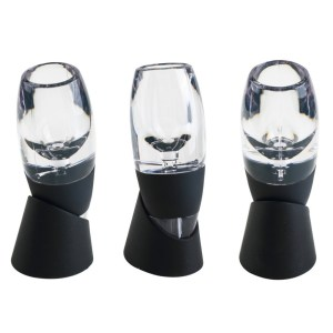 New Mini Red Wine Aerator Filter, Magic Decanter Essential Wine Quick Aerator, Wine Hopper Filter Set Wine Essential Equipment